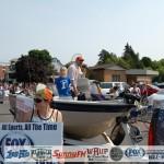 Adam Carpenter on Boat with Little Ishpeming Hematite Fan