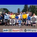 Great Lakes Radio Group Photo Before Ishpeming, Michigan Independence Day Parade 2015