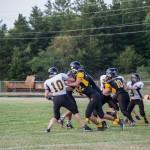 On the Field with Gwinn's JV and Varsity Football Boys!