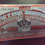 Mikes Rolling Thunder 25 kw generator repair Ishpeming 020