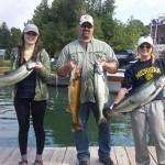 BiG ARN's Charters Trophy Salmon Fishing and Family Fun 2