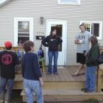 The whole family enjoyed the Backyard Bar-B-Q on a beautiful Sunday afternoon.