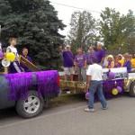 What a festive parade