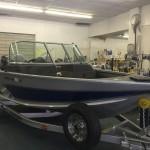 AlumaCraft Competitor 165 LE Richards Boatworks & Marine Escanaba Michigan October 2015 001