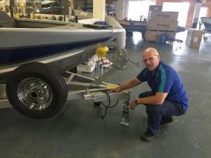 AlumaCraft Competitor 165 LE Richards Boatworks & Marine Escanaba Michigan October 2015 007