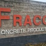 Fraco Concrete Sales off US 41 in Harvey