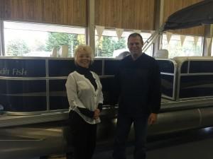 Steve at Richards Boatworks & Marine Escanaba Michigan October 2015 003