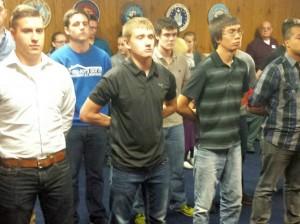 Marines Veterans Day Siblings Proud Michigan Pendleton Bootcamp