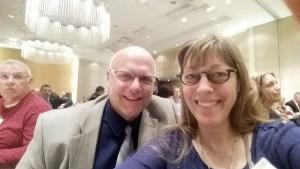 Todd and Rita Noordyk thankful that Hiawathaland Farm Bureau sent them to Washington D.C. for National AG Day