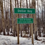 Follow the signs to Dollar Bay