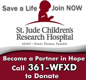 Donate to St Jude Children's Hospital Radiothon on WFXD
