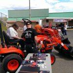Kioti Tractors on display