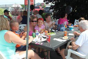 Members enjoyed Appreciation Day in Gwinn!