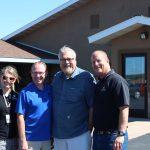 Walt Lindala with members of the Honor Team!