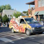 Walt Lindala was manning the Sunny Van