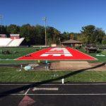Marquette Senior High School Construction of New Turf - Marquette MI - William R. Hart Stadium