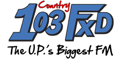 103 FXD Upper Peninsula Country  Music Radio – Marquette, MI – Northern Michigan Radio
