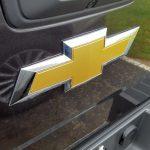 A classic Chevy emblem.