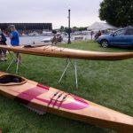 My favorite piece, this kayak is stunning.