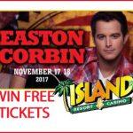 See Easton Corbin at the Island Resort and Casino on November 17/18
