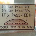 Try fresh pasties!