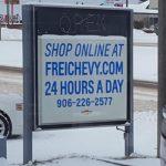 Shop online at freichevy.com!