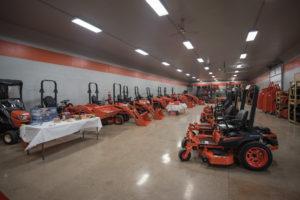 This showroom is massive!