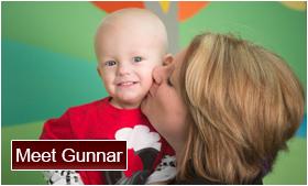 Meet Gunnar a Patient from St. Jude
