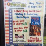 Labor Day Sale Super One