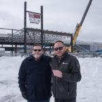 Director of Marketing for Ojibwa Casinos of Baraga & Marquette Jim Orr and Great Lakes Radio's Sales Representative Joe Duckworth.