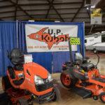 Visit U.P. Kubota at the U.P. Boat, Sport & RV Show.