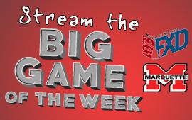 Stream the games live at wfxd.com!