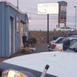 Parking lot of LaFayette Collision Center!