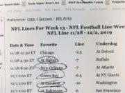 Adam's picks for Week 13 of the NFL season