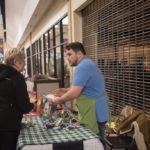 Earthborn Holistic Pet Food Brand Ambassador DJ Heredia was at the farm market.