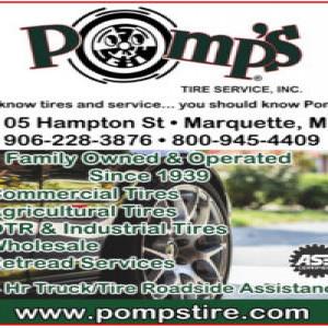 Get a standard oil change at Pomp's Tires
