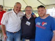 Bill Tibor, Chuck Williams, and Joe Duckworth at HarborFest 2019.