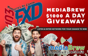 Get three chances a day to win $1000!