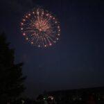These fireworks were definitely unique!