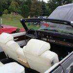 Interior of the classic Oldsmobile