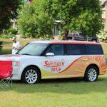 The Sunny 101.9 van at HarborFest