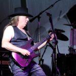 Jovi's lead guitarist performs a killer solo
