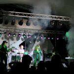 Jovi rocks a foggy stage at HarborFest