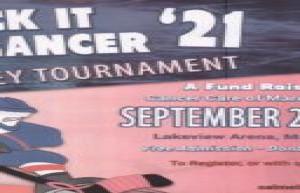 Stick it to Cancer Hockey Tournament September 24-26 2021