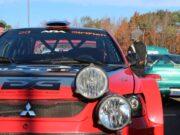 Lake Superior Performance Rally LSPR Fox Subaru Marquette Red and Black Race Car Headlights